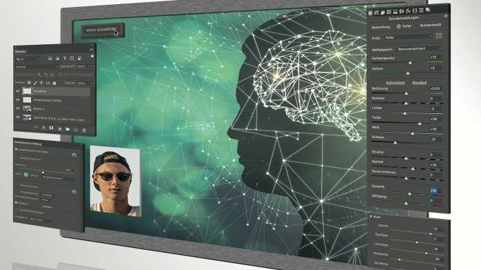 Künstliche Intelligenz  in der Bildbearbeitung
