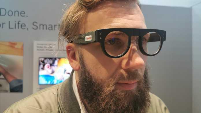 Bosch Light Drive macht normale Brille zum unsichtbaren Display
