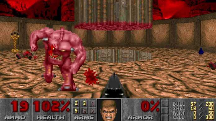 Doom und Doom 2 dank Patch mit 60 FPS