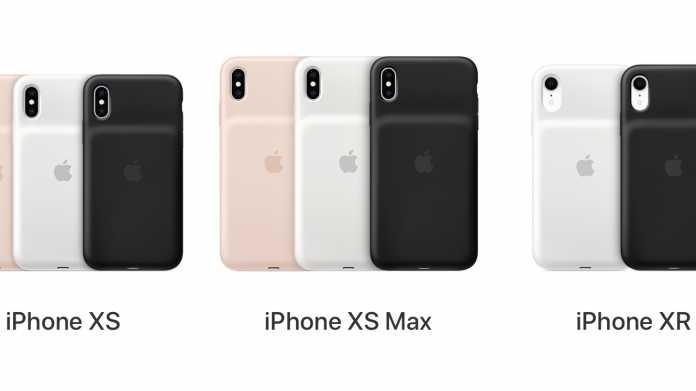 Apple startet Austauschprogramm für Smart Battery Case des iPhone XS und XR