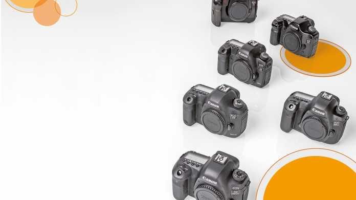 Canon EOS, Sony A7, Olympus Pen: Kameragenerationen im Vergleich