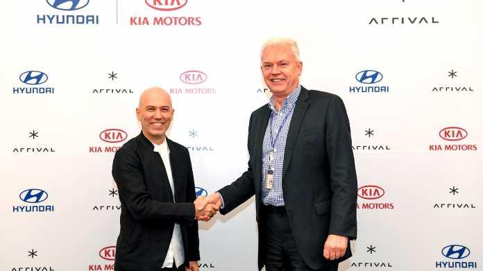 Hyundai und Kia investieren in britischen E-Autohersteller