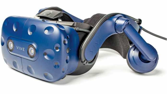 VR-Brille Vive Pro: HTC senkt Preise um 200 Euro und mehr