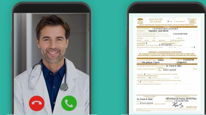 Digitale Krankschreibung soll in Frankreich gestoppt werden