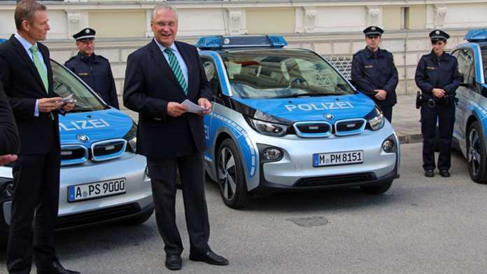 Elektroautos taugen nicht als Streifenwagen in Bayerns Polizei