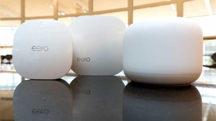 Eero, Eero Pro und Nest Wifi: Mesh für die Generation Smartphone