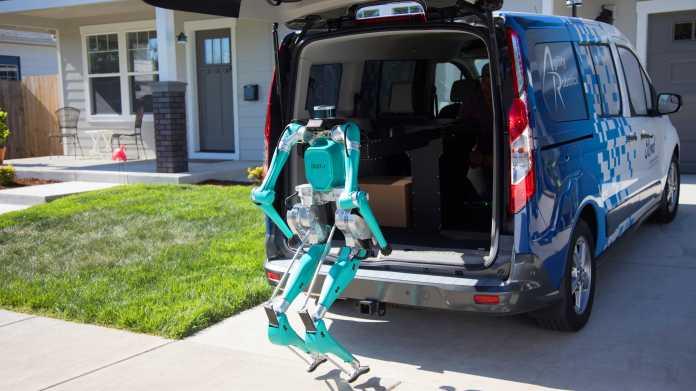 Ford kauft ersten zweibeinigen Lieferroboter