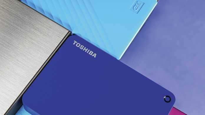 Mobilfestplatten mit 4 TByte Speicherkapazität