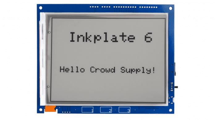 Für das E-Paper Display wurden Kindle E-Reader recyclet.
