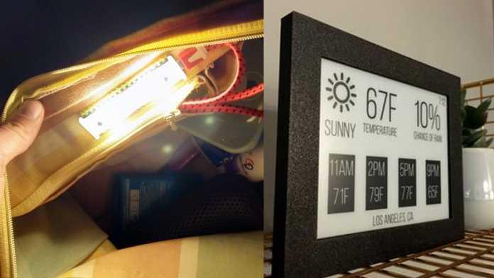 Crowdfunding-Tipps: E-Paper Display mit ESP32 und Taschenbeleuchtung Craftalight