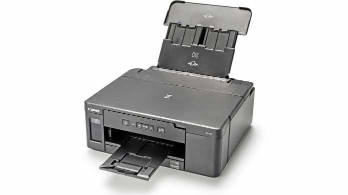 Schwarz-Weiß-Tintentankdrucker mit Tinte für 18.000 Seiten