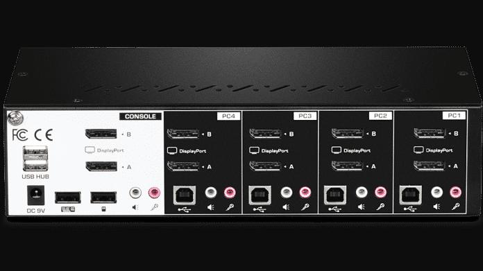 4K und DisplayPort oder HDMI: Neue KVM-Switches von TRENDnet