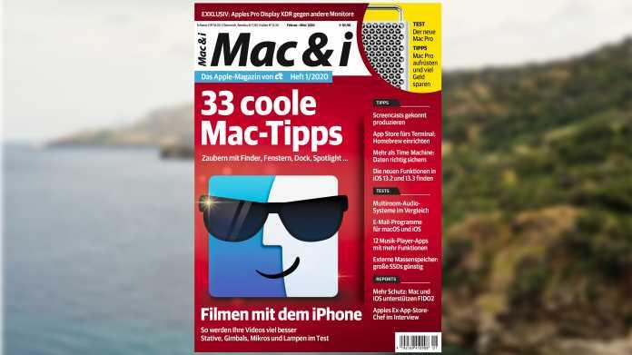 Mac & i Heft 1/2020 jetzt im heise-shop