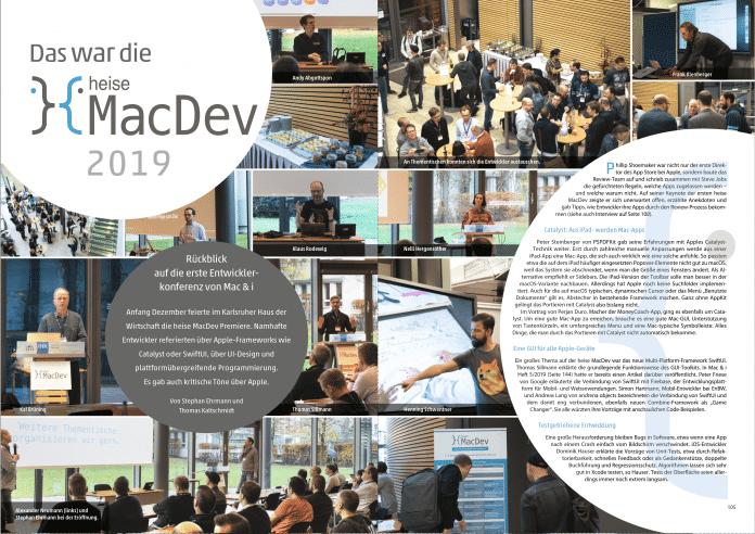 heise MacDev: Mac & i berichtet von seiner Entwicklerkonferenz in eigener Sache