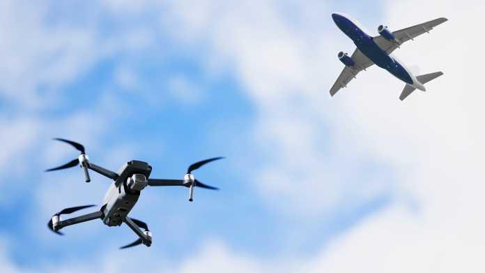 Zwischenfälle mit Drohnen an Flughäfen gehen zurück