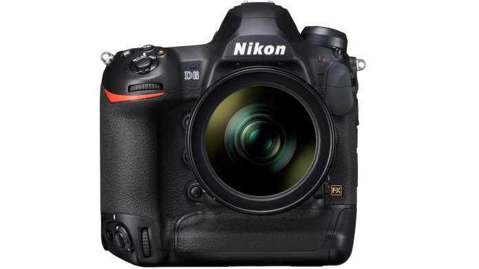 Sportbolide mit kleinen Verbesserungen: Nikon D6 angekündigt