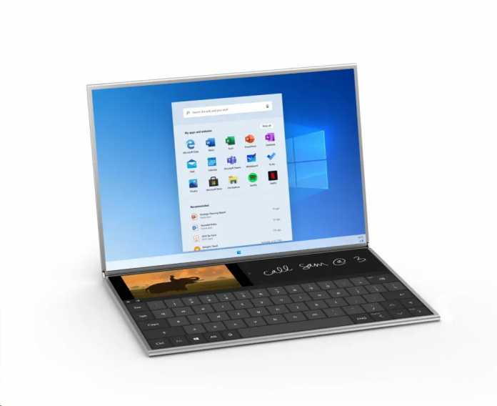 Das Surface Neo mit zwei Bildschirmen soll im Sommer erscheinen.