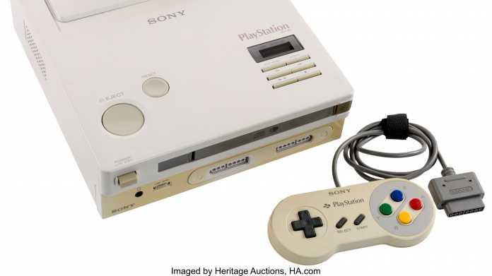 Prototyp der Nintendo Playstation wird versteigert