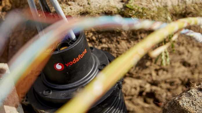 Vodafone: Gigabit-Kabel für 40 Euro pro Monat