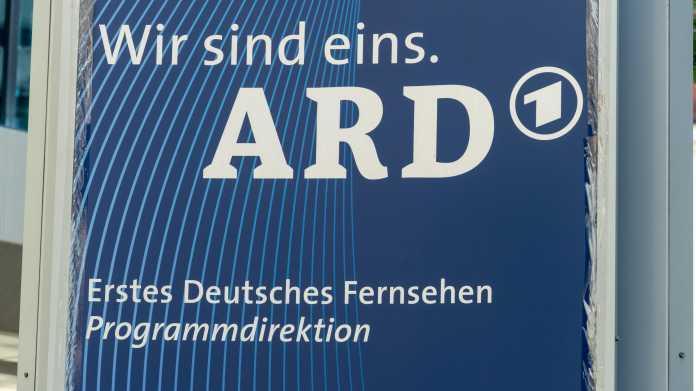 Rundfunkbeitrag: ARD-Chef hofft trotz Krise in Thüringen auf Einigung