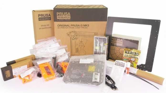 Ausprobiert: 3D-Drucker Original Prusa i3 MK3S im Eigenbau