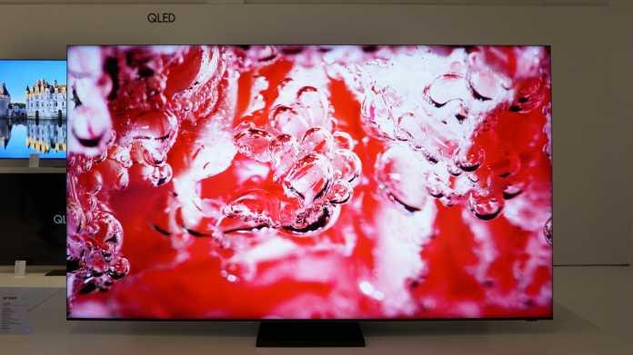 Neue TV-Modelle von Samsung: Möglichst groß, gern 8K