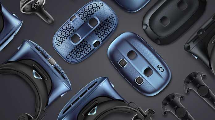VR-Headset Vive Cosmos Elite ausprobiert: HTC gibt nochmal alles
