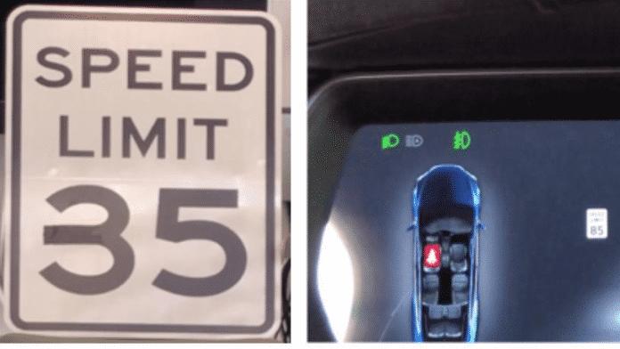 Klebeband verwirrt autonome Teslas