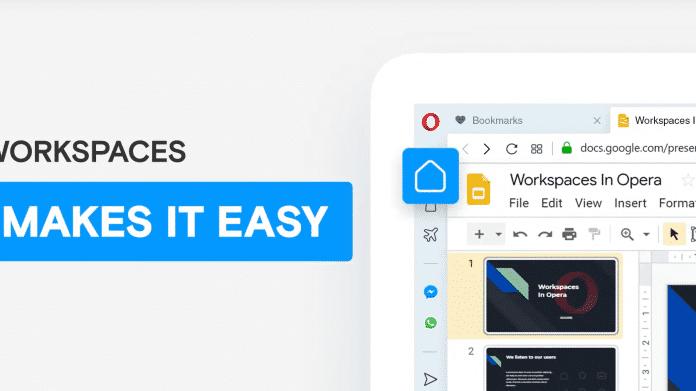 Opera-Browser: Nutzer können tabs nach Themen sortieren