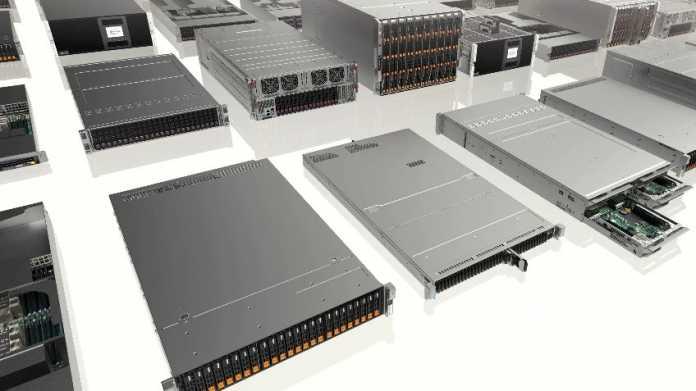 Supermicro aktualisiert über 100 X11-Server, verspricht bis zu 36 Prozent mehr Leistung