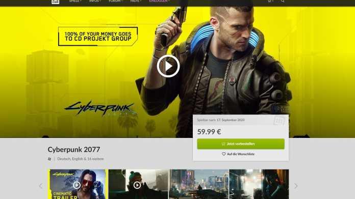 Spieleplattform GOG: Spieler können 30 Tage lang Geld zurückfordenr