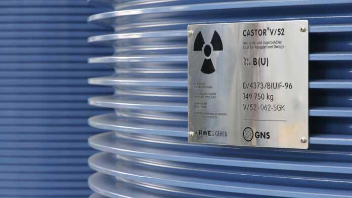 Castor-Transporte: Hochradioaktiver Müll kommt im März nach Biblis