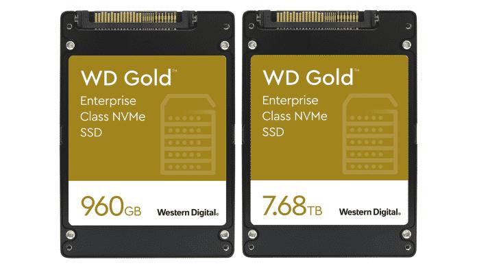 Western Digital: PCIe-SSD WD Gold NVMe mit hoher Garantie