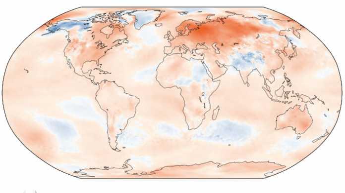 Winter in Europa war der wärmste seit Beginn der Aufzeichnungen