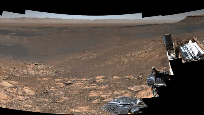 NASA-Rover Curiosity macht 1,8-Gigapxiel-Panorama seiner Umgebung