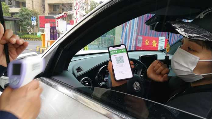 Quarantäne oder nicht: China setzt gegen den Coronavirus auf eine App
