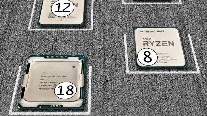 CPU-Wegweiser 2020: Prozessoren vom Dual-Core bis zum 64-Kerner
