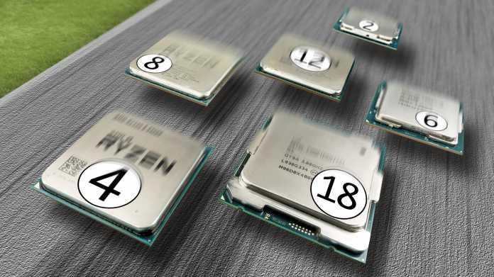 Was mehr CPU-Kerne in 3D-Spielen bringen