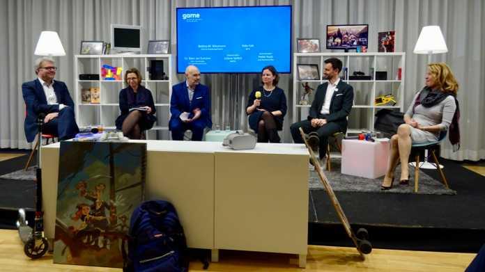 Panelteilnehmer der Bund-Länder-Debatte