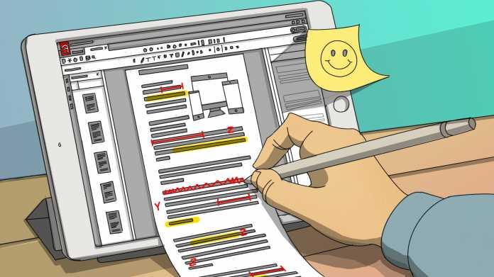 PDF-Apps mit Stiftunterstützung für iOS