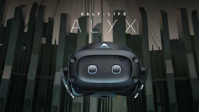 """VR-Headset Vive Cosmos Elite zusammen mit """"Half-Life Alyx"""" verfügbar"""