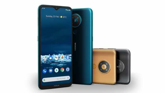 Nokia 5.3, 1,3 und 5310: HMD Global zeigt neue Einsteiger-Handys