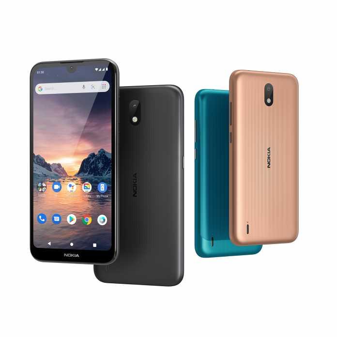 Das Nokia 1.3 ist ein Einstiger-Handy mit entschlacktem Android 10.