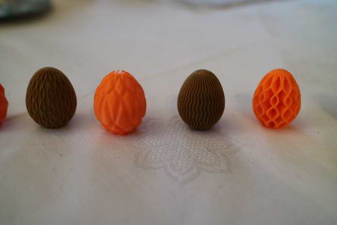 Die Modelle Waver, Kraken, Wavy_simple und Wavy_complex aus den beiden Sammlungen von Antonin Nosek auf Thingiverse.