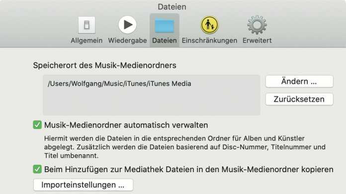 Tipp: iTunes-Dateien auf neue Musik-App von macOS Catalina migrieren