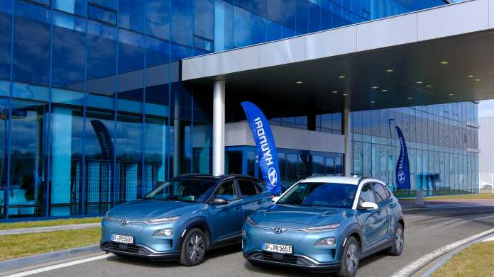 Hyundai: Elektroautos aus Tschechien