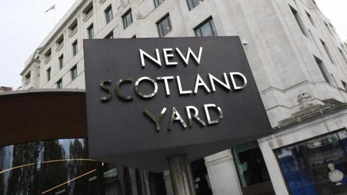 New Scotland Yard in London