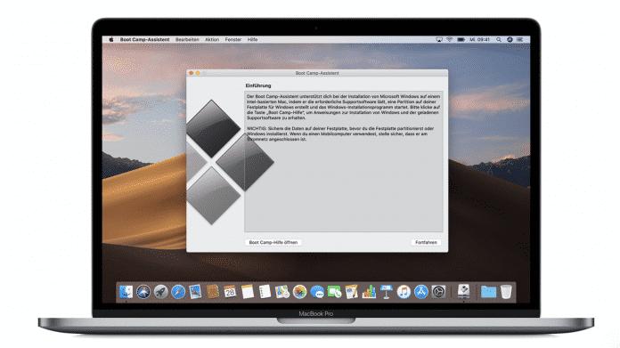 Boot Camp auf dem Mac