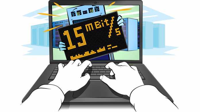 Webdesign: Internetgeschwindigkeit mit dem Browser ermitteln