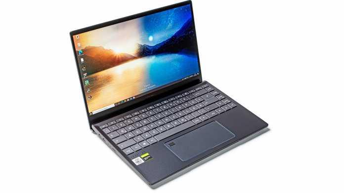 MSI-Notebook Prestige 14 mit Sechskern-Prozessor Core i7-10710U